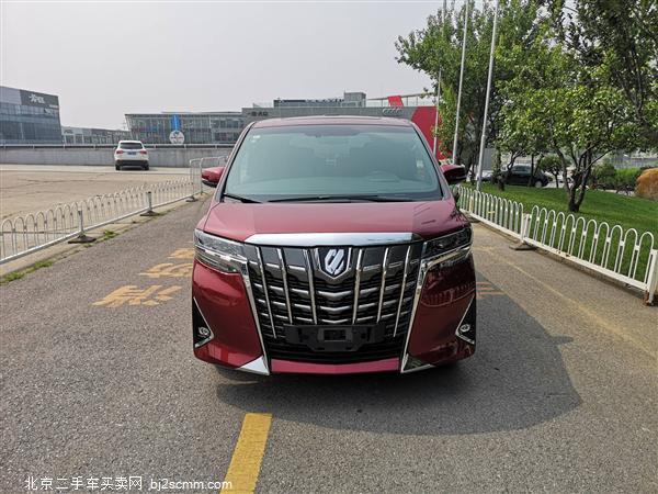 丰田 2019款 埃尔法 改款 3.5L 尊贵版