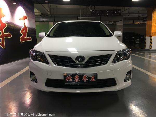 丰田 卡罗拉 2012款 炫装版 1.8L CVT GL-i