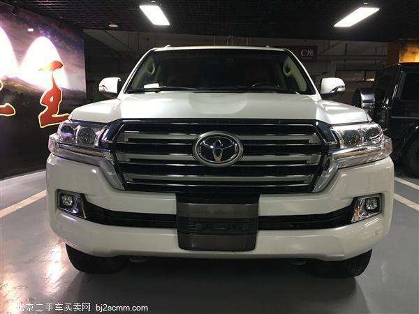 丰田 2016款 兰德酷路泽(进口) 4.0L 中东后挂备胎版