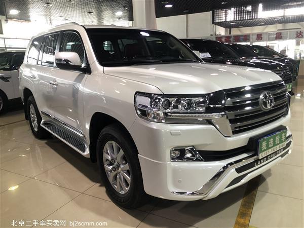 丰田 2018款 兰德酷路泽 4.6L GX-R 八气 底挂 丝绒 限量版(中东)