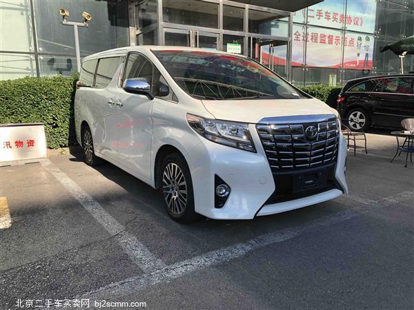 丰田 2018款 埃尔法 3.5L 尊贵版