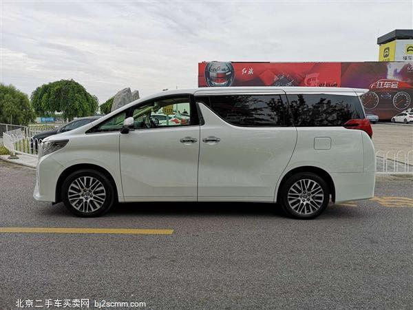 丰田 2016款 埃尔法 3.5L 尊贵版