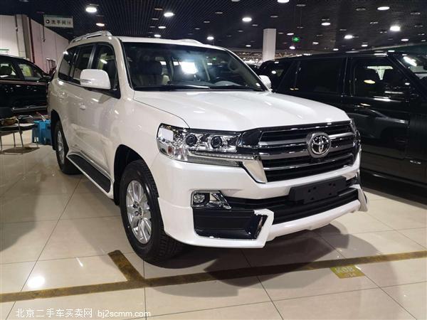 丰田 2019款 兰德酷路泽(进口) 4.0L 底挂 两气TXL