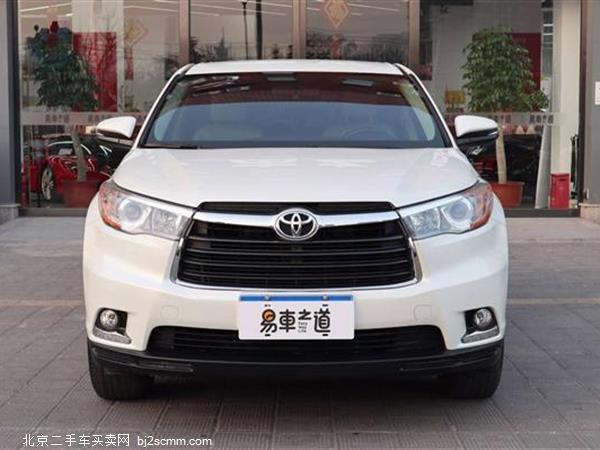 丰田 2015款 汉兰达 3.5L 四驱精英版 7座