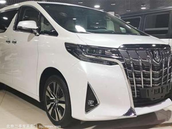 丰田 2018款 埃尔法 3.5L 豪华版