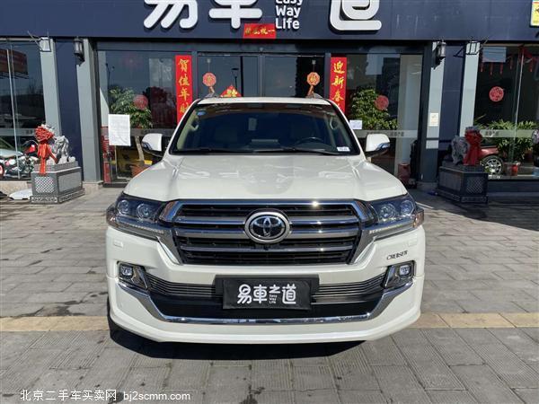 丰田 2019款 兰德酷路泽 4.0L GX-R GT 八气 真皮 后娱(中东)