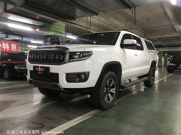 2018款 黄海N3 2.4T自动四驱尊贵版4K22D4T