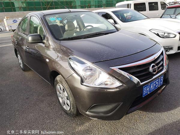 日产 2015款 阳光 1.5XE CVT舒适版