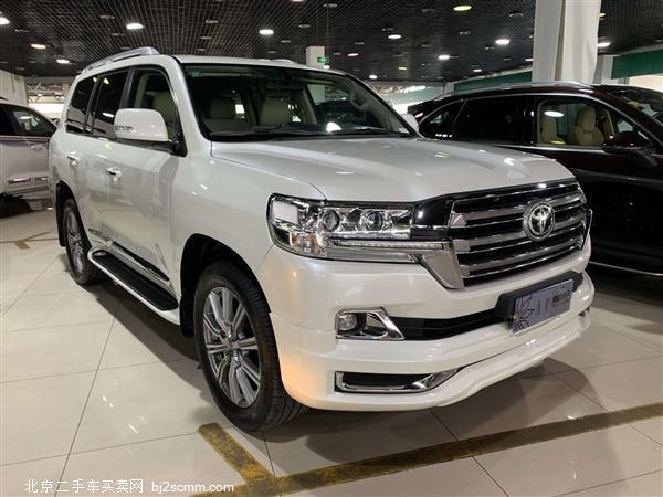 丰田 2018款 兰德酷路泽 4.6L GX-R 两气 外挂(中东)