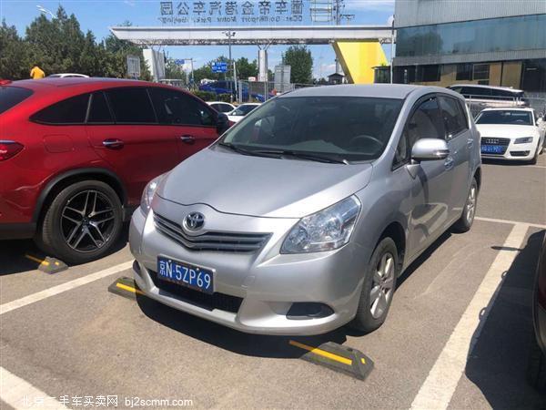 丰田 逸致 2012款 180G CVT舒适多功能版
