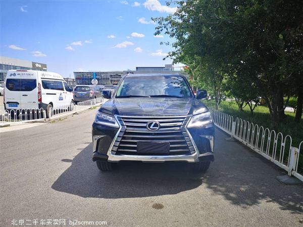 2019款 雷克萨斯LX 570 动感豪华版