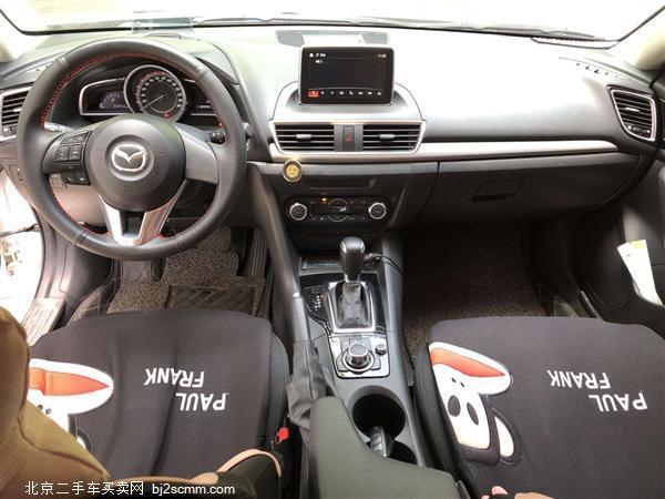 2016款 马自达3 Axela昂克赛拉 三厢 1.5L 自动豪华型