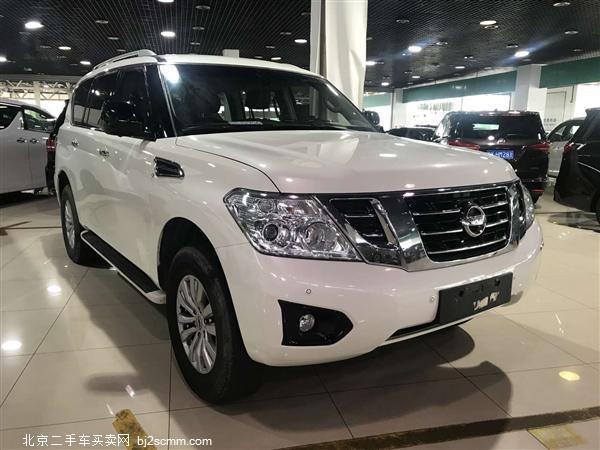 日产 2017款 途乐  4.0L V6 自然吸气 中东版