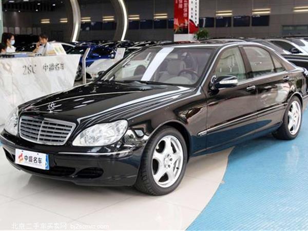 奔驰S级 2004款 S 600
