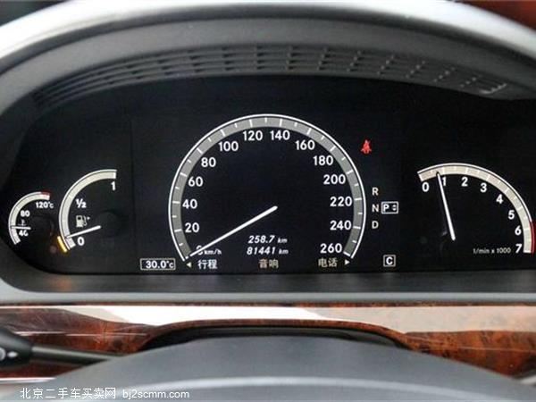 奔驰S级 2008款 S 600 L