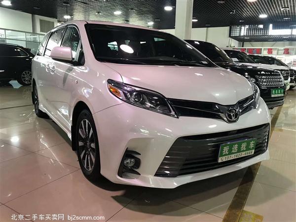 丰田 2020款 塞纳 3.5L 两驱 XLE真皮 7座(墨版)