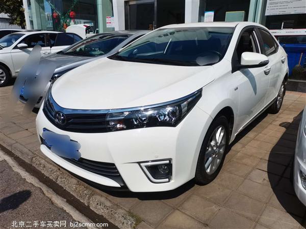 丰田 卡罗拉 2014款 1.6L CVT GL-i真皮版