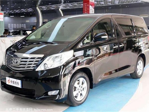 丰田 埃尔法 2011款 3.5L 豪华版
