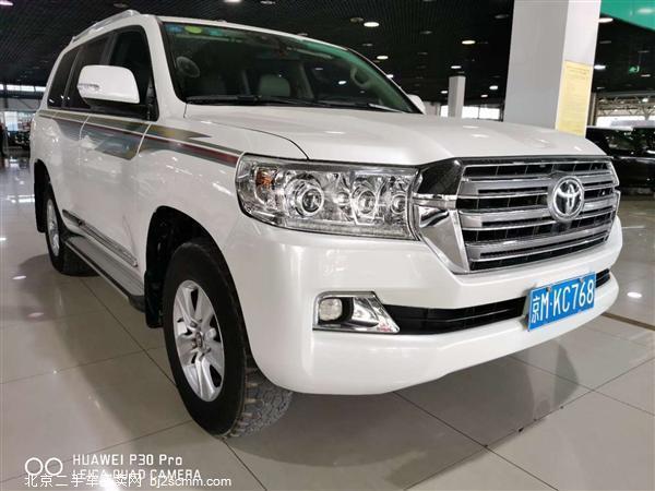 丰田 2017款 兰德酷路泽(进口) 4000 中东版