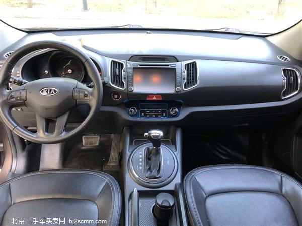 起亚 2011款 智跑 2.0L 自动两驱版GL