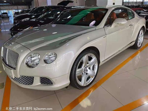 宾利 2012款 欧陆 6.0T GT W12