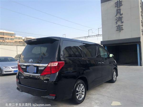 丰田 2013款 埃尔法 3.5L 尊贵版