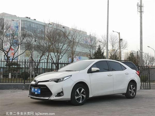丰田 2018款 雷凌 185T CVT豪华版