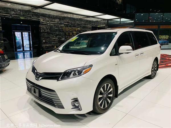 丰田 2019款 塞纳 3.5L 四驱 Limited 7座(加版)