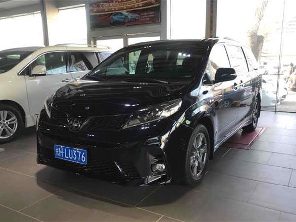 丰田 2019款 赛纳 3.5L 四驱 SE 7座(加版)