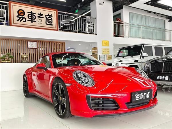 保时捷911 2017款 Targa 4 GTS 3.0T