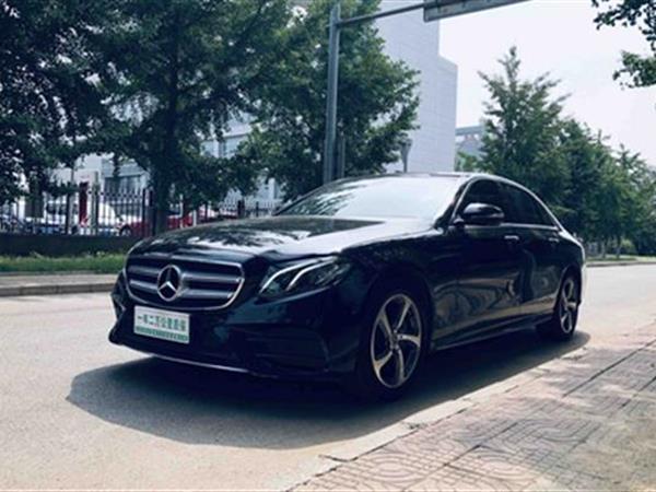 奔驰E级 2019款 E 300 L 时尚版 运动轿车