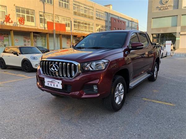上汽大通MAXUS T60 2019款 2.4L汽油手动四驱高底盘先锋版标厢