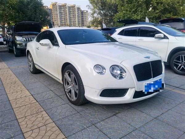 欧陆 2012款 4.0T GT V8