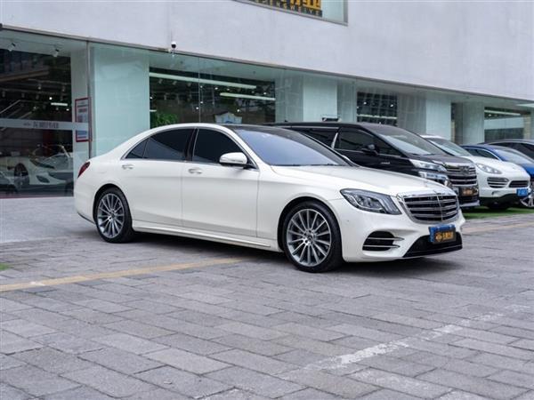 奔驰S级 2018款 S 500 L 4MATIC