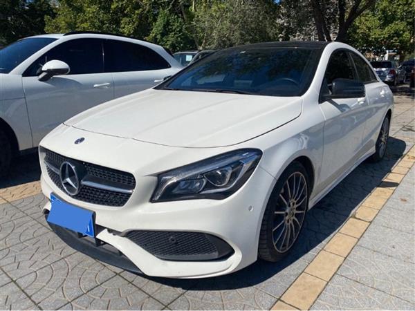 奔驰CLA 2019款 CLA 220 4MATIC