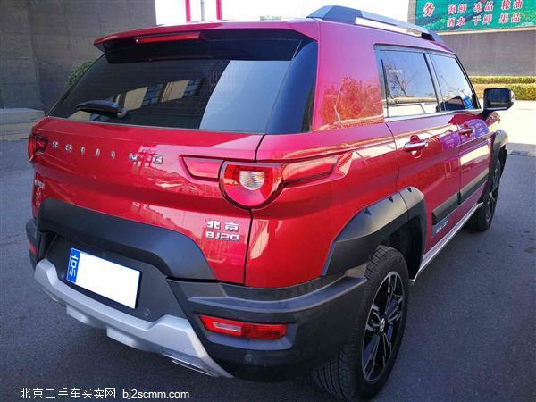 北京40 2016款 40L 2.3T 手动四驱尊享版
