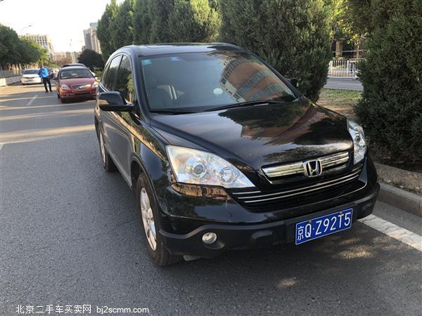 本田CR-V 2007款 2.4L 自动四驱尊贵版