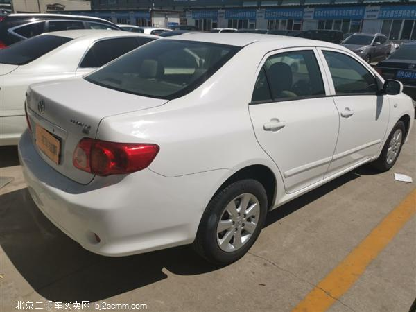 丰田 卡罗拉 2007款 1.6L 自动GL