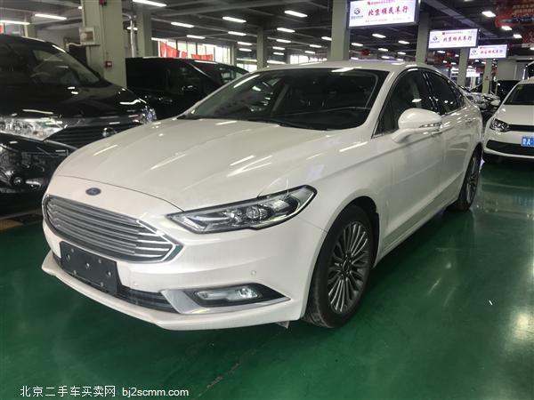 福特 2017款 蒙迪欧 EcoBoost 180 至尊型