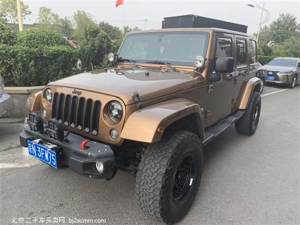 Jeep 牧马人 2011款 3.8L Sahara 四门版